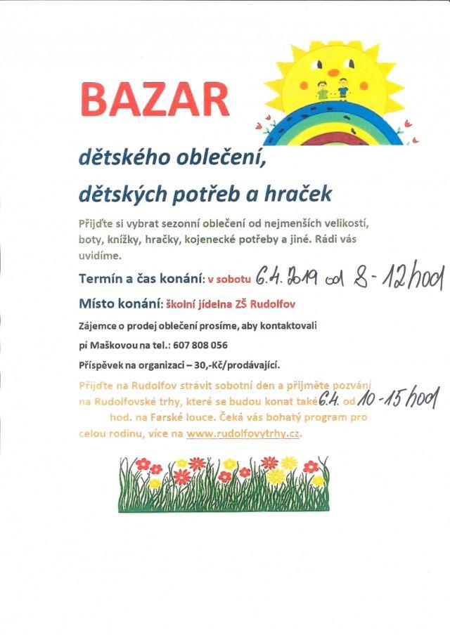 d97d9b26964e Kalendář akcí - Bazar dětského oblečení